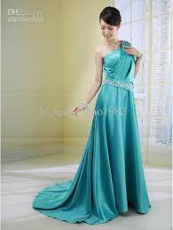 cheap teal bridesmaid dresses turmec one shoulder teal bridesmaid dress