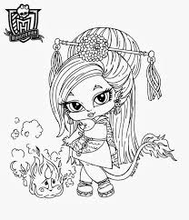 imageslist com monster high babies for coloring part 1