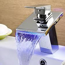 Changing Bathroom Faucet by Ydl F 0527 High Quality Contemporary Led Rgb Color Changing
