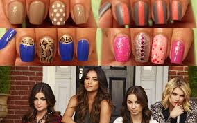 pretty little liars nails for back to dee2102 youtube