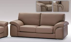 Ital Leather Sofa Dima Salotti Black Design Co
