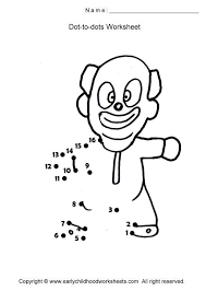 cartoon characters dot to dots worksheets page 1