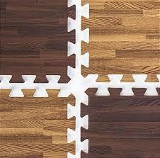 cherry oak wood grain floor mats mix match flooring ti