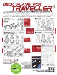 traveller5 starships u0026 spacecraft 2 five deck plan set game