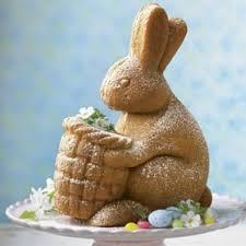 bunny cake mold bunny with basket cake williams sonoma