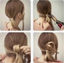 Hochsteckfrisurenen Mittellange Haare Selbstgemacht by Schulterlange Haare Frisuren Selber Machen