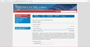 a filipino u0027s guide to a us visa online application appointment