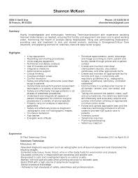Resume Title Sample by Sample Resume For Dialysis Technician Resume For Your Job
