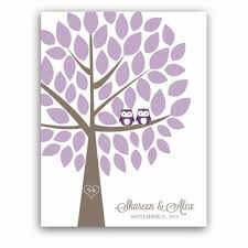 purple guest book shop wedding guest book alternatives trees on wanelo