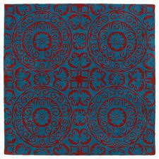 Peacock Area Rug Square Kaleen Area Rugs Rugs The Home Depot