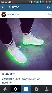 sneakers that light up on the bottom om light up bottom sneakers made