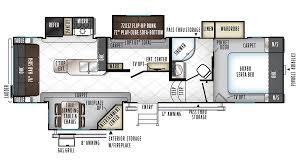 rockwood signature ultra lite 8295ws 5th wheel floor plan