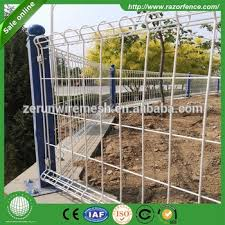 decorative roll loop fence professional loop welded wire