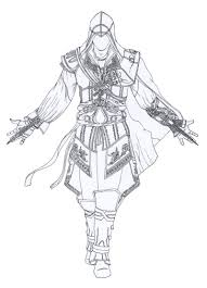 Black Flag Statue Puzzle Assassin U0027s Creed Coloring Pages Check This Out And Other Cool