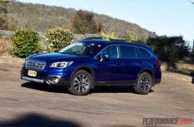 rare subaru models 2015 subaru outback review video 2 0d u0026 2 5i performancedrive
