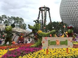 let u0027s sample the tastes and sights of epcot u0027s flower u0026 garden festival