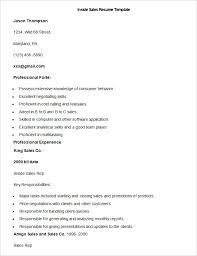 resume sles in word format sales resume template 41 free sles exles format