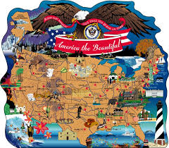 anerica map america the beautiful map the cat s meow