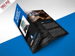 brochure psd template 3 fold 35 free brochure templates psd