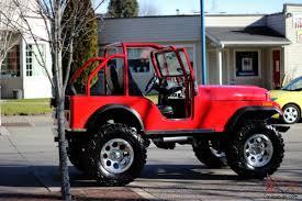 jeep kaiser custom cj5 350 chevy custom show jeep 4x4
