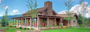 Western Ranch House Plans The Double L Ranch Custom Luxury Cottage Creekside
