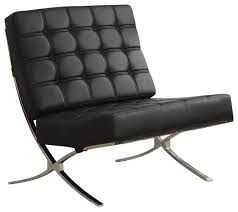 Faux Leather Accent Chair Coaster X Style Chrome Legs Black Faux Leather Waffle Accent