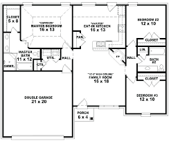 3 bedroom 2 house plans simple 3 bedroom house plans simple floor plans bedroom house plan