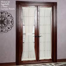 Sliding Door Coverings Ideas by Patio Ideas Patio Door Curtain Panel With Wooden Pattern Floor