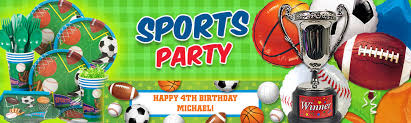 football party decorations sports birthday party supplies decorations and ideas