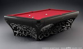 high end pool tables furniture fashionhigh end pool tables by vincent facquet