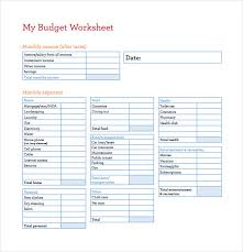 Spreadsheet Template For Budget 14 Budget Spreadsheet Templates Free Sle Exle Format