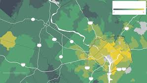 Montgomery Al Zip Code Map by Far From The City Far From Recovery Washington Post