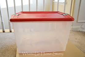 storage fashionable rubbermaid ornament storage box