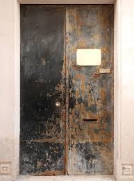 texture metal rusty door black paint 3 metal doors lugher