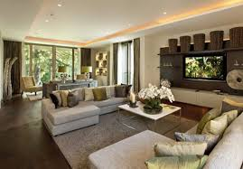 Pillows For Sofas Decorating by Interior Awesome Home Interior Using Brown Wool Sectional Sofa