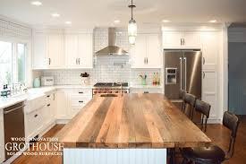 farmhouse kitchen islands reclaimed chestnut kitchen island counter in sea cliff ny