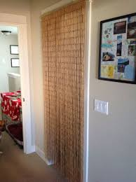 Curtains As Closet Doors Beaded Closet Door Curtains Closet Doors