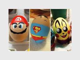 Decorating Easter Eggs Superheroes by Best Easter Egg Decorations Ever Krugersdorp News