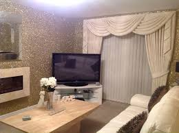 precious metal gold glitter wallcovering from www