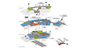 Stansted Airport Floor Plan by