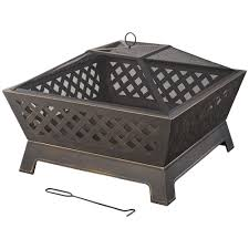 Decorative Cinder Blocks Home Depot Wood Fire Pits Outdoor Heating The Home Depot