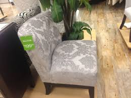 light grey damask accent chair cynthia rowley accent chairs