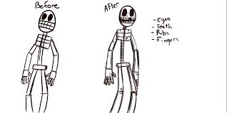 drawn skeleton png minecraft pencil and in color drawn skeleton