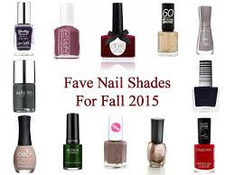 tease flutter pout fave fall nail shades 2015