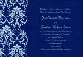 royal blue wedding invitations 32 blank wedding invitations templates blue vizio wedding