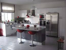 cuisine frigo americain formidable deco maison cuisine ouverte 8 les 25 meilleures