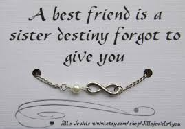 charm bracelet infinity images Best friend infinity charm bracelet with pearl and quote jpg