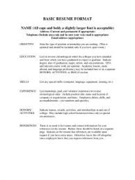resume in pdf resume template best photos of easy simple intended for basic