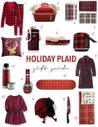 holiday plaid gift guide 2016