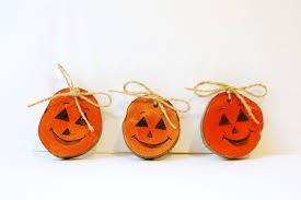 halloween primitive decor wood pumpkins primitive halloween pumpkins rustic halloween
